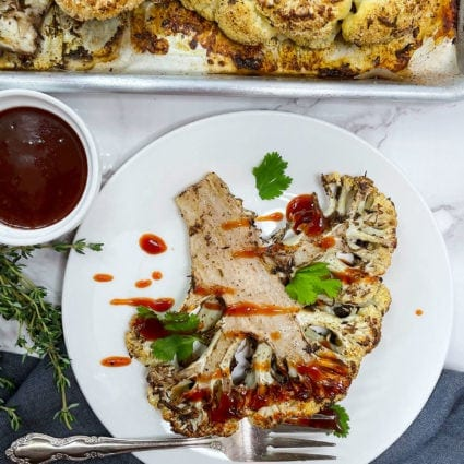 Jerk Cauliflower Steak