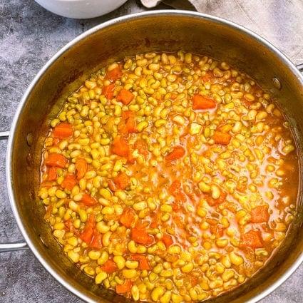 White Acre Pea Stew