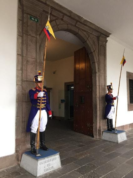 Guardas do Palácio de Carondelet