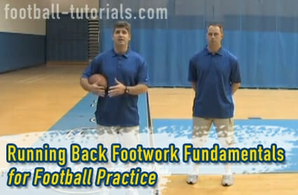 Running Back Football Practice