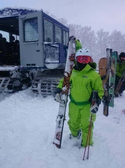 Cat-Skiing in Furano