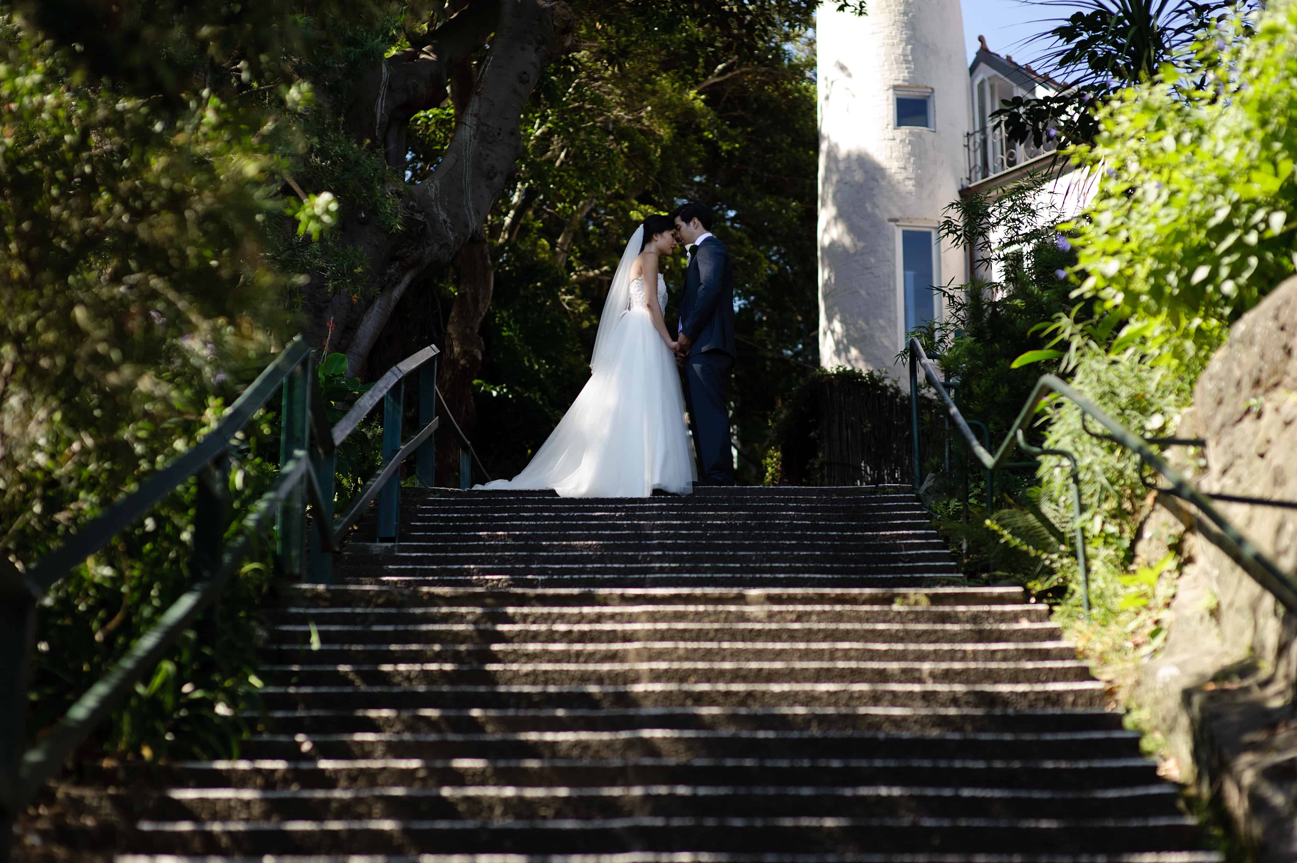 Couple getting married in Australia on a partner visa