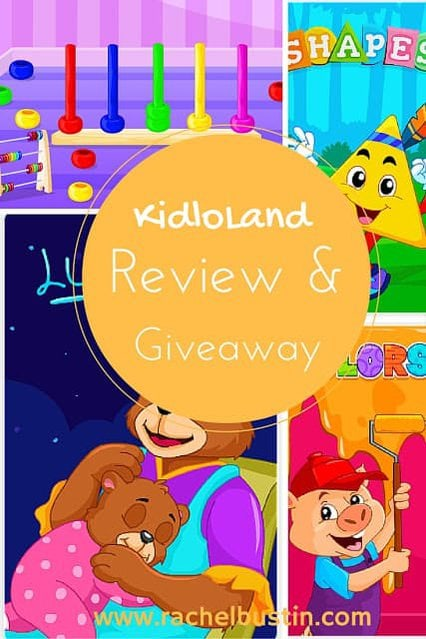 KidloLand review and giveaway - lullabies, colours, shapes