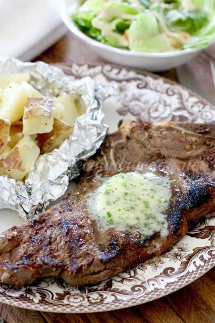 Best Steak Marinade and Steakhouse Butter recipe at The Country Cook
