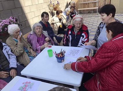 Самостоятельность и интеллектуальные занятия престарелых