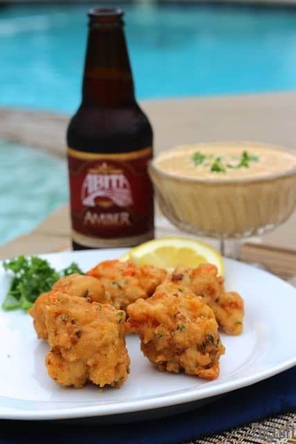 Crawfish Beignets with Remoulade Sauce from ZagLeft