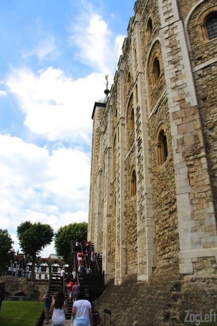 The White Tower at the Tower of London | ZagLeft
