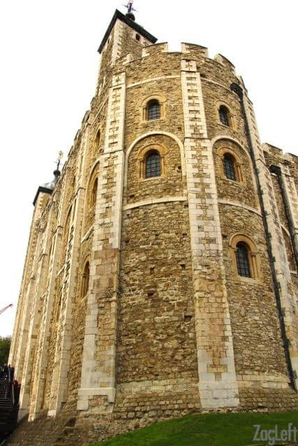 Visiting the Tower of London | The White Tower | ZagLeft