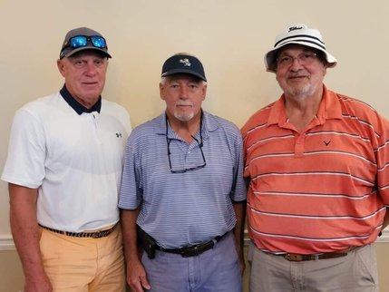 3rd Place winners of the OFTC Foundation North's 7th Annual Golf Tournament. L-R: Ben Amerson, Howard Brantley, Ray Cobb (Not pictured David Ginn)