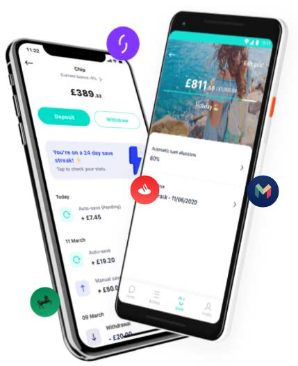 Chip investments app
