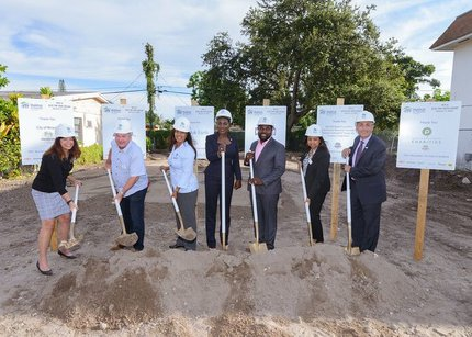 Habitat for Humanity of Broward Breaks Ground on Six Homes in Historic Miramar