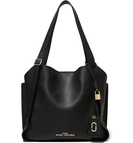 The Marc Jacobs leather tote | 40plusstyle.com