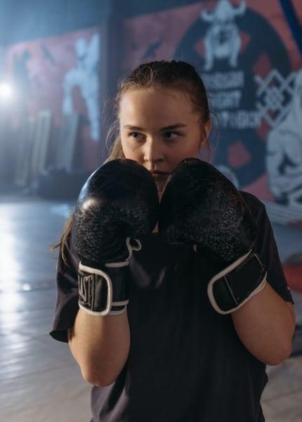 Mädchen Boxhandschuhe