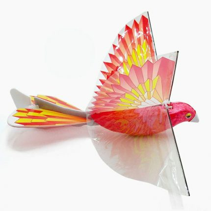 E-Bird PARROT with life-like flapping wing. Great kids gift for indoor & outdoor use