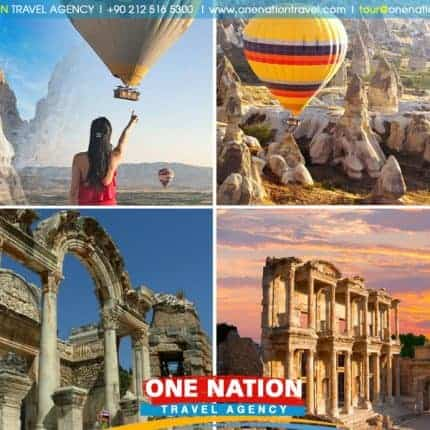 3-Day Cappadocia and Ephesus Tour from Istanbul by Plane