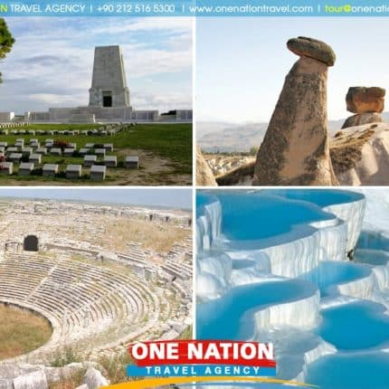 7 Days Gallipoli, Troy, Pergamum, Ephesus, Pamukkale, Konya & Cappadocia Tour Image