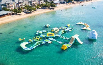 Caribbean Water Park in St. Lucia Welcomes 100,000 Visitors – Splash Island Water Park