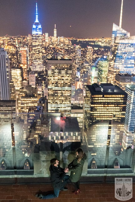 Photo 23 Top of the Rock Marriage Proposal 2