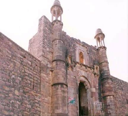 City Fort of Mandrail City in Karauli, Rajasthan
