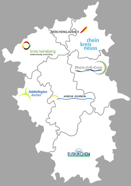 Gesamtregionales Radverkehrskonzept Rheinisches Revier Projektraum
