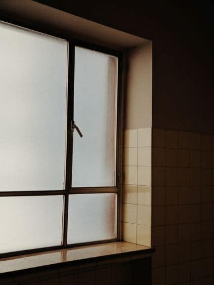 Frosted Glass Window Coverings