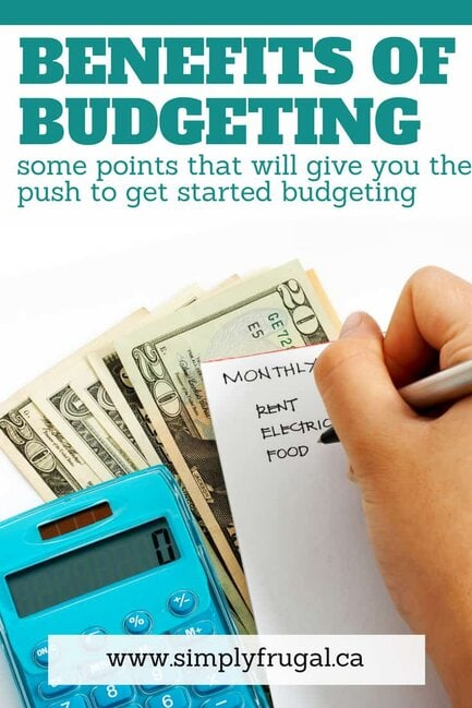 These points will give you the push to get started budgeting by showing you the benefits of having a budget! #budget #budgeting #budgettips
