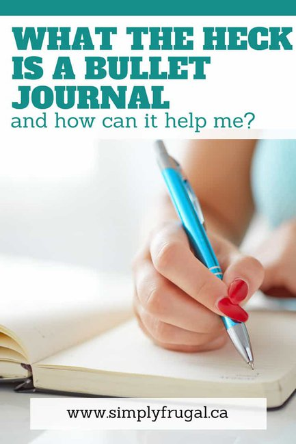 Bullet Journal ideas - What is a bullet journal and how can it help me?