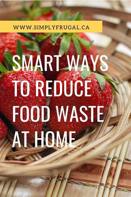 11 Smart ways to reduce food waste at home.