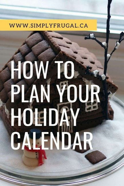 8 Weeks to a More Organized Christmas: How to Plan Your Holiday Calendar