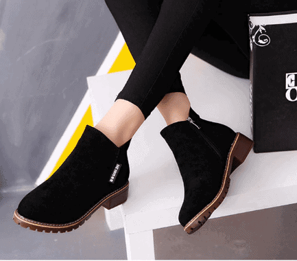 trendy ladies boots for dresses