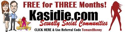 Kasidie the sexually social community