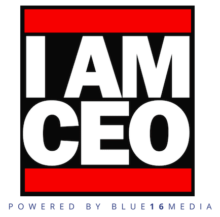 The logo of IamCEO