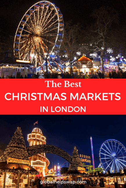Here we list our favourite Christmas markets in London. From Winterville to Winter Wonderland. Make sure you dress up warm!