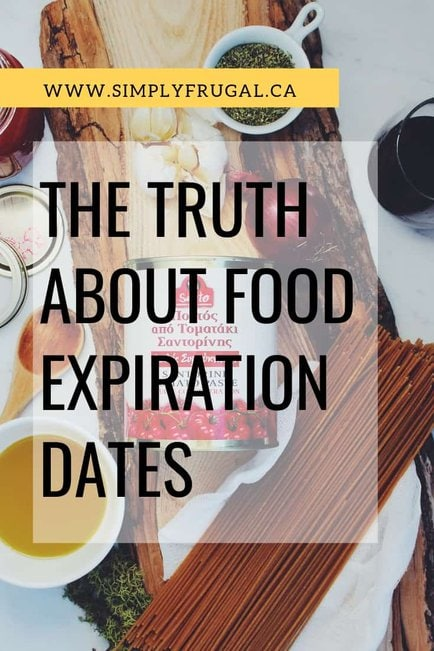 LEarn the truth about food expiration dates so you can actually save money and reduce food waste!
