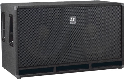 Hire Double 18 inch Subwoofer Speakers