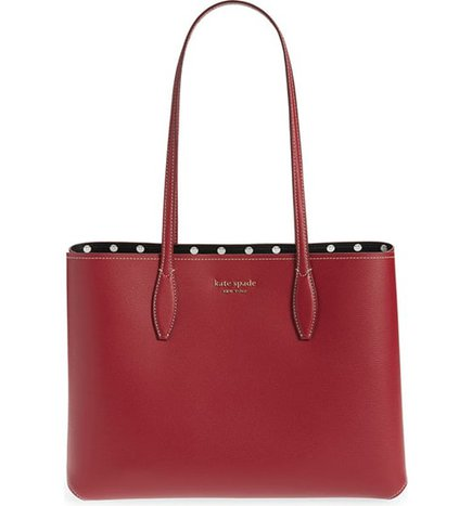 Kate Spade New York large tote | 40plusstyle.com