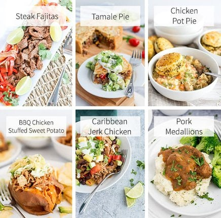 1-Hour of Less Instant Pot Dinners