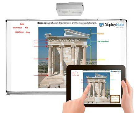 Display Note Interactive software