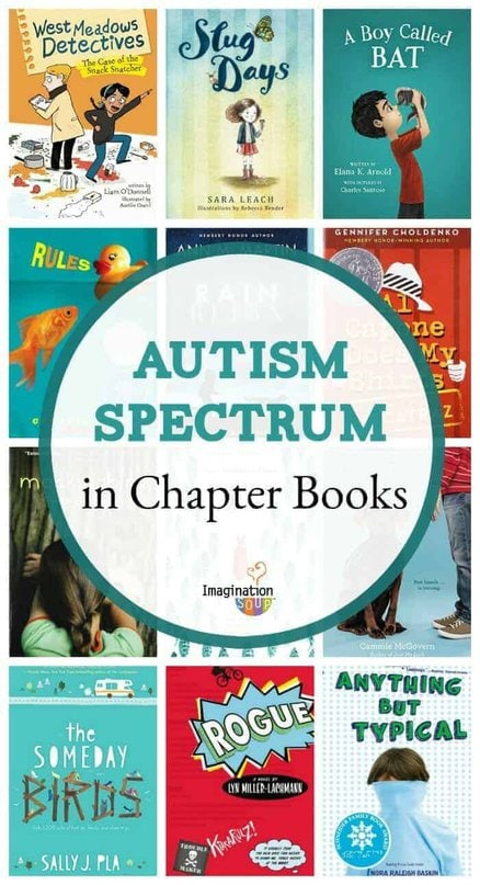 the best chapter books with characters on the Autism Spectrum
