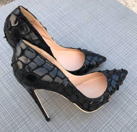 heels for black dress