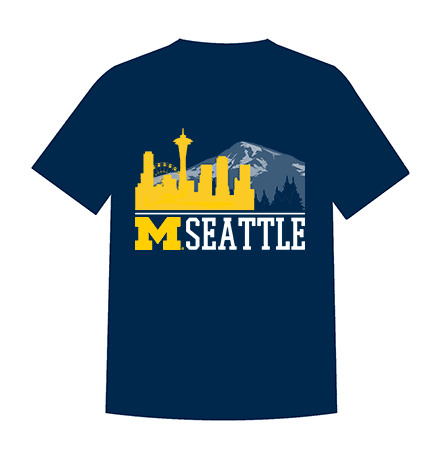 2017 Seattle Club T-shirt