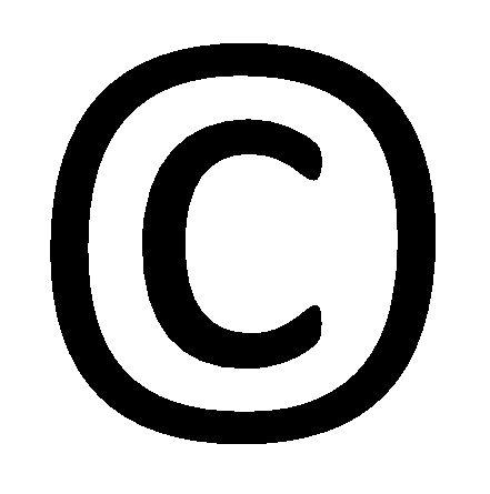 copright (Calibri)