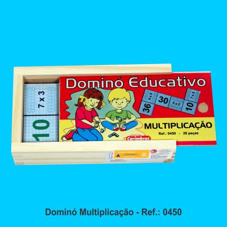 domino multiplicacao carimbras