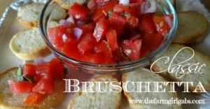 Bruschetta - FB