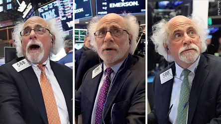 Peter Tuchman es el trader más famoso de la Bolsa de Nueva York