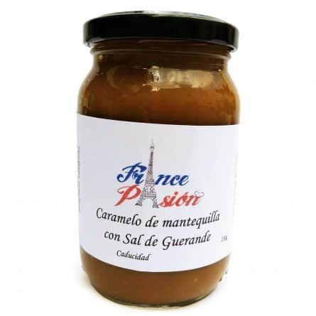 Caramelo de Mantequilla Untable con Sal de Guerande