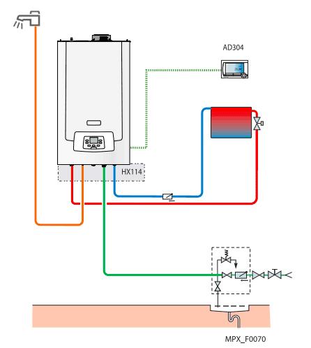 Примерна схема за монтаж на De Diertich MPX