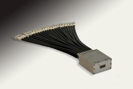 A custom fiber optic cable developed by Fiberoptics Technology