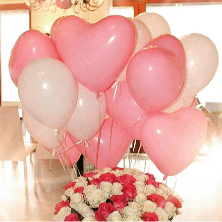 balloons for wedding receptions