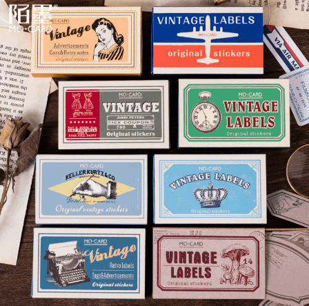 vintage stickers aliexpress